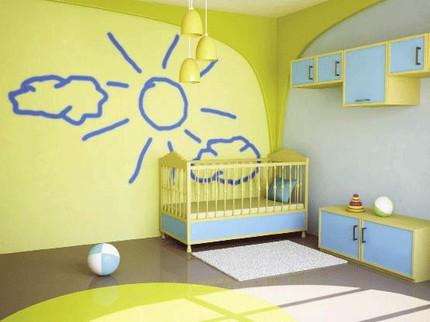 Bài trí phong thủy cho bé giấc ngủ ngon 2