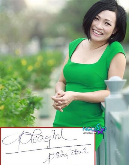 Tò mò chữ ký của sao Việt 7