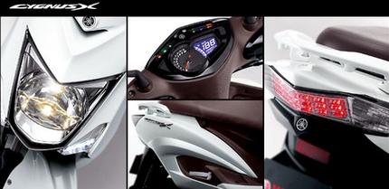 Yamaha  ra mắt xe tay ga mới: Cygnus-X 2013 3