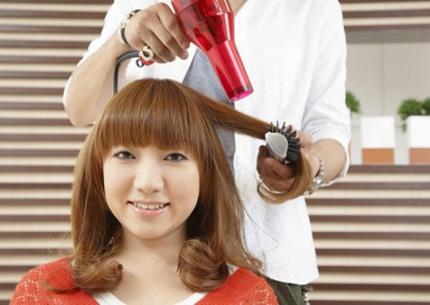 Tạo kiểu tóc phù hợp cho nàng tóc mỏng 3
