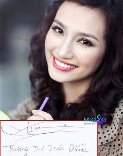 Tò mò chữ ký của sao Việt 5