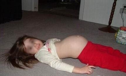 Bé gái 11 tuổi... mang thai 8 tháng 1