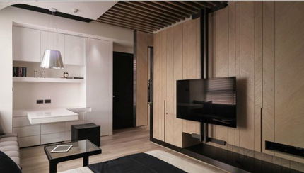 6de3a1baitrinoithatthongminhva Chia sẻ cách bài trí nội thất tiện nghi cho căn hộ 21 m²