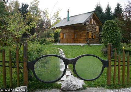 Độc đáo ngôi nhà gỗ từ A đến Z 5