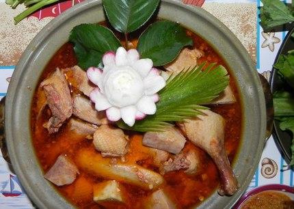 Những món ăn bổ dưỡng từ thịt vịt 2