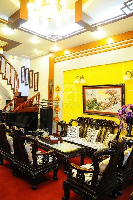 Ngắm nhà tiện nghi, hiện đại nơi phố cổ Hà Nội chật hẹp 5