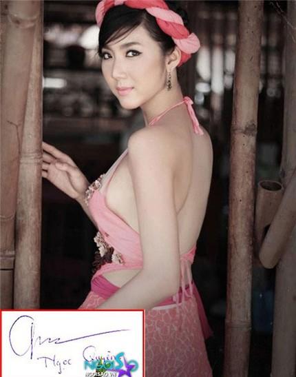 Tò mò chữ ký của sao Việt 14