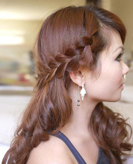 Tạo kiểu tóc phù hợp cho nàng tóc mỏng 6