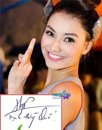 Tò mò chữ ký của sao Việt 3