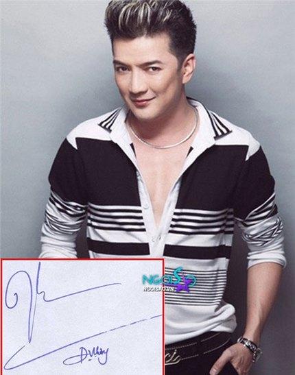 Tò mò chữ ký của sao Việt 11