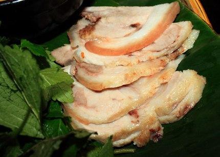 Đổi vị với bún thịt luộc mắm tép 2