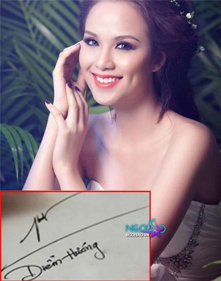 Tò mò chữ ký của sao Việt 1