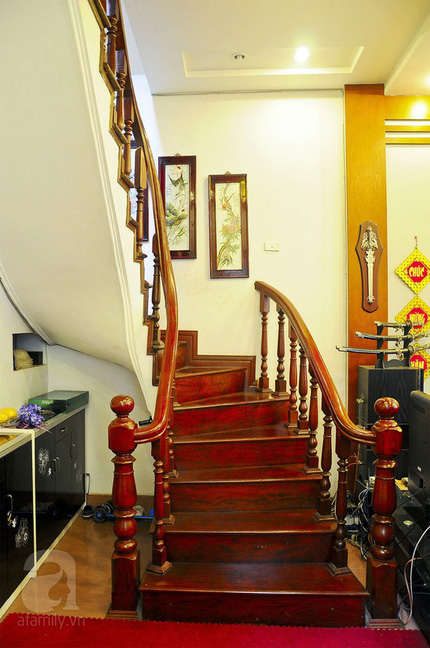 Ngắm nhà tiện nghi, hiện đại nơi phố cổ Hà Nội chật hẹp 14