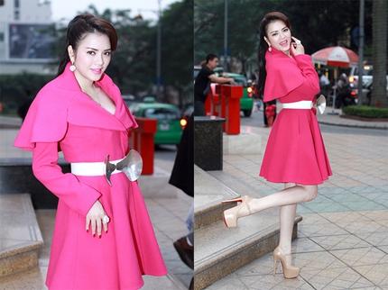 Mặc đồ dạo phố giao mùa đẹp như sao Việt 8