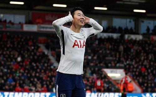 Son Heung-min lập cú đúp, Tottenham đè bẹp Bournemouth leo lên đứng thứ 3