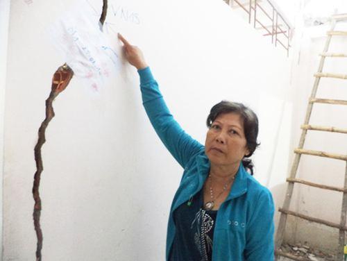Sóc Trăng: Sống thấp thỏm trong căn nhà có nguy cơ đổ sập