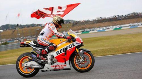 Marc Marquez vô địch thế giới MotoGP 2014