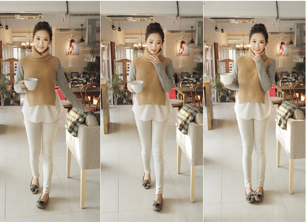Kiểu áo len mốt nhất năm 2013 25