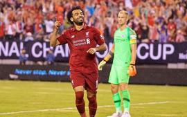 Salah ghi bàn sau 52 giây, Liverpool thắng ngược Man City trên đất Mỹ