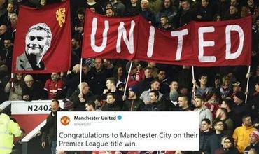 Fan Man Utd phẫn nộ, cảm thấy bị sỉ nhục khi đội nhà chúc mừng Man City