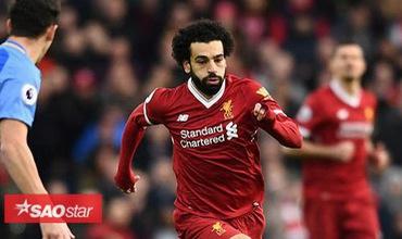 Mohamed Salah lập kỷ lục khó tin trong mùa giải đầu cho Liverpool