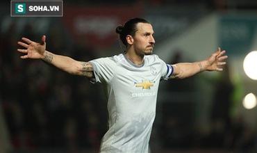 32 khoảnh khắc không thể quên của Ibrahimovic trong màu áo Man United