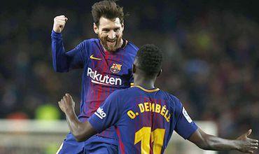 Messi và 'tam giác vàng' tạo nên sức mạnh Barca