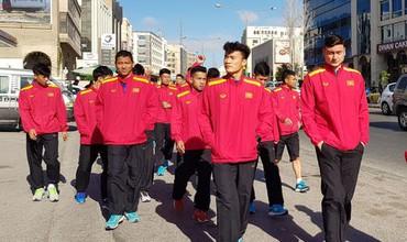 Thư thái đi dạo tại Jordan, ĐT Việt Nam sẵn sàng giúp HLV Park Hang-seo cán mốc 100