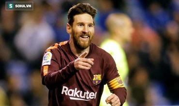 Barca vô địch La Liga sớm 4 vòng trong ngày Messi lập hat-trick, xô đổ kỷ lục ghi bàn